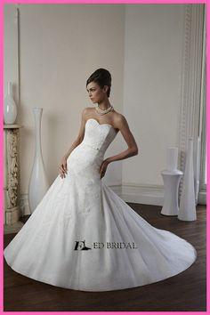 OEM Factory Sweetheart Neckline Lace Bodice Low Back Irish Lace Wedding Dresses