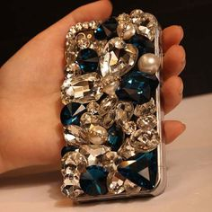 Bling iphone 5 case iphone 5s case stone iphone by DadaIphoneCase, $22.99