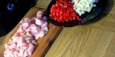 Liemikuutio: Kermainen broilerpastavuoka Pasta, Meat, Food, Essen, Meals, Yemek, Eten, Pasta Recipes, Pasta Dishes