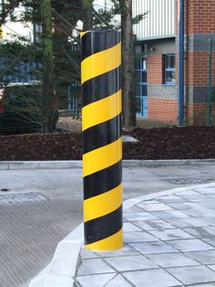 Anti ram bollards to suit any scheme, available in a range of sizes supplied 1500mm overall length, galvanised and powder coated black as standard.