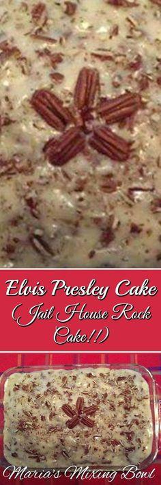 Elvis Presley Cake (Jailhouse Rock Cake!!)
