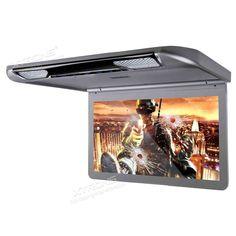 """Buenos días amig@s!! #felizmiercoles Hoy en Carmultimediazone.com destacamos esta súper Pantalla de techo HD 1080p Xtrons 13,3"""" con luz HDMI SD USB y altavoces. Una Pantalla Panorámica Universal Xtrons CM133HD en color gris metalizado y Reproductor de DVD Universal. CD, además de lector de tarjetas SD y USB. Puede reproducir cualquier formato de vídeo, así como música en mp3 y fotos en jpg. También tiene conector HDMI para un teléfono/tablet/portátil. También incluye mando a distancia"""