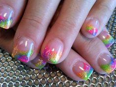 Rainbows...perfect length. Love it!