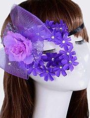 Women's Fashion Flower Lace Carnival Costume Pa... – USD $ 5.99