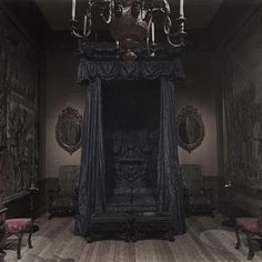 Dark Gothic Bedroom