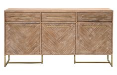 Shop AllModern for stylish sideboards and buffets. Store your extra table linens, dinnerware, and flatware in a modern kitchen buffet and expand your storage options! Dining Room Furniture, Wood Furniture, Furniture Ideas, Furniture Storage, Furniture Design, Wood Sample, Sideboard Buffet, Credenza, Large Sideboard