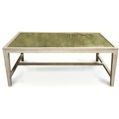 Noir Imperial Coffee Table - White Wash ($1,401) ❤ liked on Polyvore featuring home, furniture, tables, accent tables, noir furniture, white wash table, noir table, white washed furniture en whitewash table