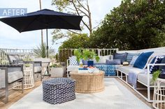 Some day I will make you mine!   Emily Henderson's patio / deck / backyard