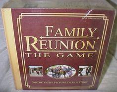 Family Reunion The Game Storytelling Memories New O8 | eBay