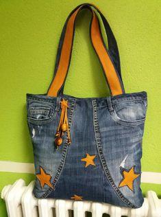 Jean Purses, Purses And Bags, Artisanats Denim, Denim Bag Patterns, Diy Purse, Handmade Handbags, Purse Organization, Recycled Denim, Totes
