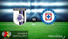 Querétaro vs Cruz Azul en el Apertura 2015 ¡En vivo por internet! - http://webadictos.com/2015/08/21/queretaro-vs-cruz-azul-apertura-2015/?utm_source=PN&utm_medium=Pinterest&utm_campaign=PN%2Bposts
