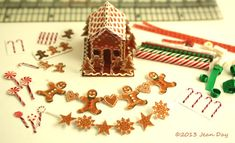 Hey, I found this really awesome Etsy listing at https://www.etsy.com/listing/169102012/gingerbread-house-and-decorating-kit