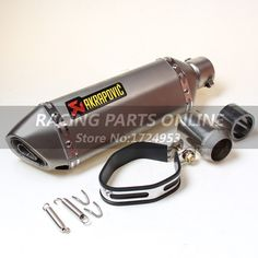 AK51A 1 Modified Motorcycle stainless steel Exhaust Pipe Muffler CBR CB400 CB600 CBR600 CBR1000 KTM990 DUKE ER6N ER6R YZF600 TTR-in Exhaust & Exhaust Systems from Automobiles & Motorcycles on Aliexpress.com | Alibaba Group