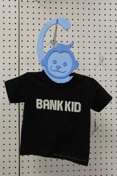 Those Rainbow Monkey childrens clothes hangers look like a great idea, I wish I would have thought of that