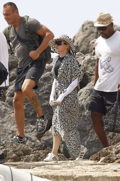 Pin for Later: This Week's Can't-Miss Celebrity Photos  Madonna continued her birthday celebrations in Ibiza.