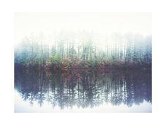 Reflecting Amongst The Fog And Light by Smile Peace Love for Minted