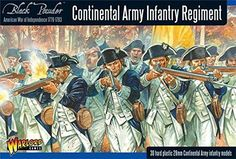 Pre-Built Model Figures - Black Powder  American War Of Independence  Continental Infantry 28mm >>> You can get additional details at the image link.