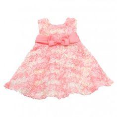 Infant Ombre Rosette Dress
