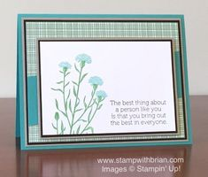 Wild About Flowers, World of Dreams, Stampin' Up!, Brian King, PPA295