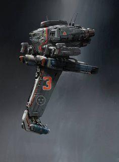 John_Liberto_Concept_Art_SpaceShip_02 http://conceptartworld.com/?p=899