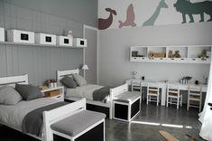 great modern kids room