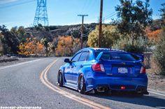 Subaru Impreza STI #JDM: #Stanced, #Slammed & #Tuned, #Rvinyl loves them all.