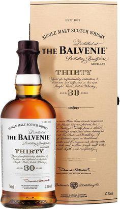 The Balvenie Thirty 30 Year Old Cask Strength Single Malt Scotch Whisky   @Caskers