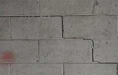 Is the crack in your foundation serious or simple? Concrete Block Walls, Home Inspection, Tile Floor, Foundation, Flooring, Simple, Garden, Garten, Lawn And Garden