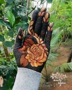 Henna Flower Designs, Peacock Mehndi Designs, Back Hand Mehndi Designs, Mehndi Designs Book, Mehndi Designs 2018, Modern Mehndi Designs, Mehndi Designs For Girls, Wedding Mehndi Designs, Mehndi Designs For Fingers