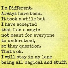 I've never concerned myself with the opinions of others. ✌️ #me #different #weird #weirdo #spiritual #magical #powerful #awareness #mindfulness #quote #quotes #truth #truestory #justme #Regram via @thatjenngrl