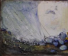 """Philippin, Inge, """"Devided Waters 1"""" (18) Mit einem Klick auf 'Als Kunstkarte versenden' versenden Sie kostenlos dieses Werk Ihren Freunden und Bekannten."""