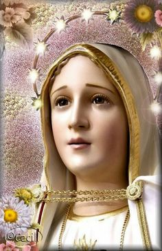 ® Blog Católico Gotitas Espirituales ®: VIRGEN DE FÁTIMA Mary Jesus Mother, Blessed Mother Mary, Mary And Jesus, Pictures Of Jesus Christ, Virgin Mary, Our Lady, Dragon Ball Z, Madonna, Princess Zelda