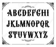 Image result for victorian font