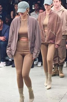 Kylie Jenner Walking for Yeezy Season 2 at NYFW
