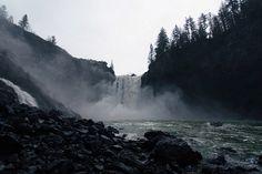 . Dark Paradise, Dark Places, Niagara Falls, Waterfall, Wildlife, Earth, Sky, World, Nature