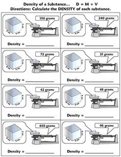 This is a one page foldable for students to put into their science journals covering the topic of DENSITY. This is good for introducing mass or as a review.