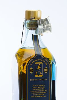 Johnnie Walker Smart Bottle Debuts At Mobile World Congress