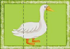 "Растем, играем, учимся...: Картинки-пазлы своими руками по теме ""Домашние животные"" . Math For Kids, Puzzles For Kids, Maze Puzzles, Farm Unit, Montessori Practical Life, Child Teaching, Animal Puzzle, Farm Theme, Pets"