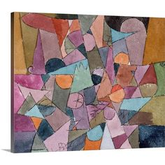 """met-modern-art: """" Untitled by Paul Klee, Modern and Contemporary Art The Berggruen Klee Collection, 1984 Metropolitan Museum of Art, New York, NY Medium: Watercolor and ink on paper mounted on. Modern Art, Paul Klee Art, Paul Klee Paintings, Metropolitan Museum Of Art, Painting, Watercolor And Ink, Art, Abstract, Prints"""