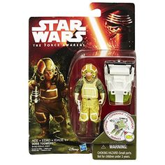 Goss Toowers is part of the tireless technical crew that provides mechanical support to the Resistance's fleet of starfighters. Star Wars Gifts.