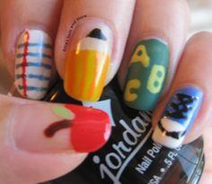 45 Back To School Nail Designs photo Callina Marie's photos