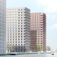Tony Fretton Architects . towers 5 & 6 . Westkaai (8)