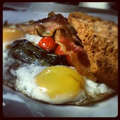 Ummmm, yum! You'll find breakfast goodies like this and more at the Gastropub in Lubbock. Tell them Visit Lubbock sent you fellow foodies!
