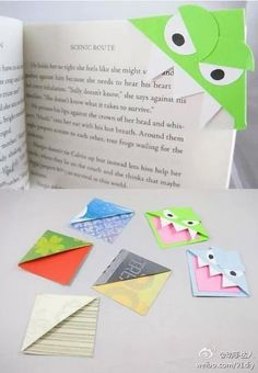 Bookmarks for kids or adults! :)