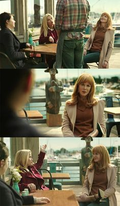 """Practically Everything Celeste Wore on """"Big Little Lies"""" with Our Scattered Thoughts on What it All Meant Big Little Lies, Hbo Series, Series Movies, Fantasy Movies, Number Two, Celebrity Outfits, Nicole Kidman, Best Tv, Fashion Beauty"""