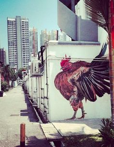 Street Art in Tiong Bahru, Singapore - Visit http://asiaexpatguides.com and make the most of your experience in Asia! Like our FB page https://www.facebook.com/pages/Asia-Expat-Guides/162063957304747 and Follow our Twitter https://twitter.com/AsiaExpatGuides for more #ExpatTips and inspiration!