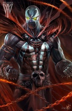 Want to discover art related to spawn? Check out inspiring examples of spawn artwork on DeviantArt, and get inspired by our community of talented artists. Comic Book Characters, Comic Book Heroes, Marvel Heroes, Comic Character, Comic Books Art, Comic Art, Spawn Comics, Arte Dc Comics, Anime Comics