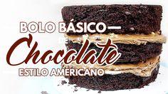 Bolo básico de chocolate