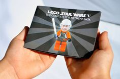 Lego Star Wars Birthday invitation (cool!)