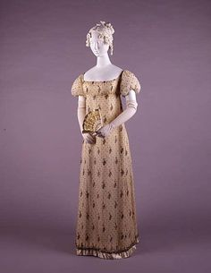 Dress Date: 1805–10 Culture: French Medium: cotton Dimensions: [no dimensions available] Credit Line: Gift of Mrs. John Jay Whitehead, in memory of Mrs. Gertrude Moulton, 1943